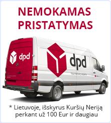 Nemokamas pristatymas visoje Lietuvoje