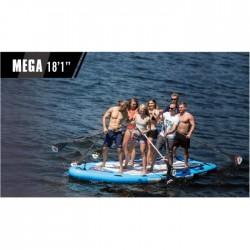 Aqua Marina irklentė Mega 2018, mėlyna, 550x152x20 cm