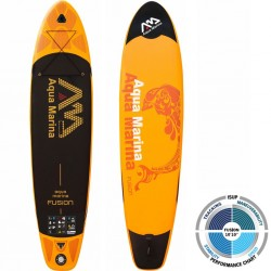Aqua Marina irklentė Fusion 2018, oranžinė, 330x75x15 cm
